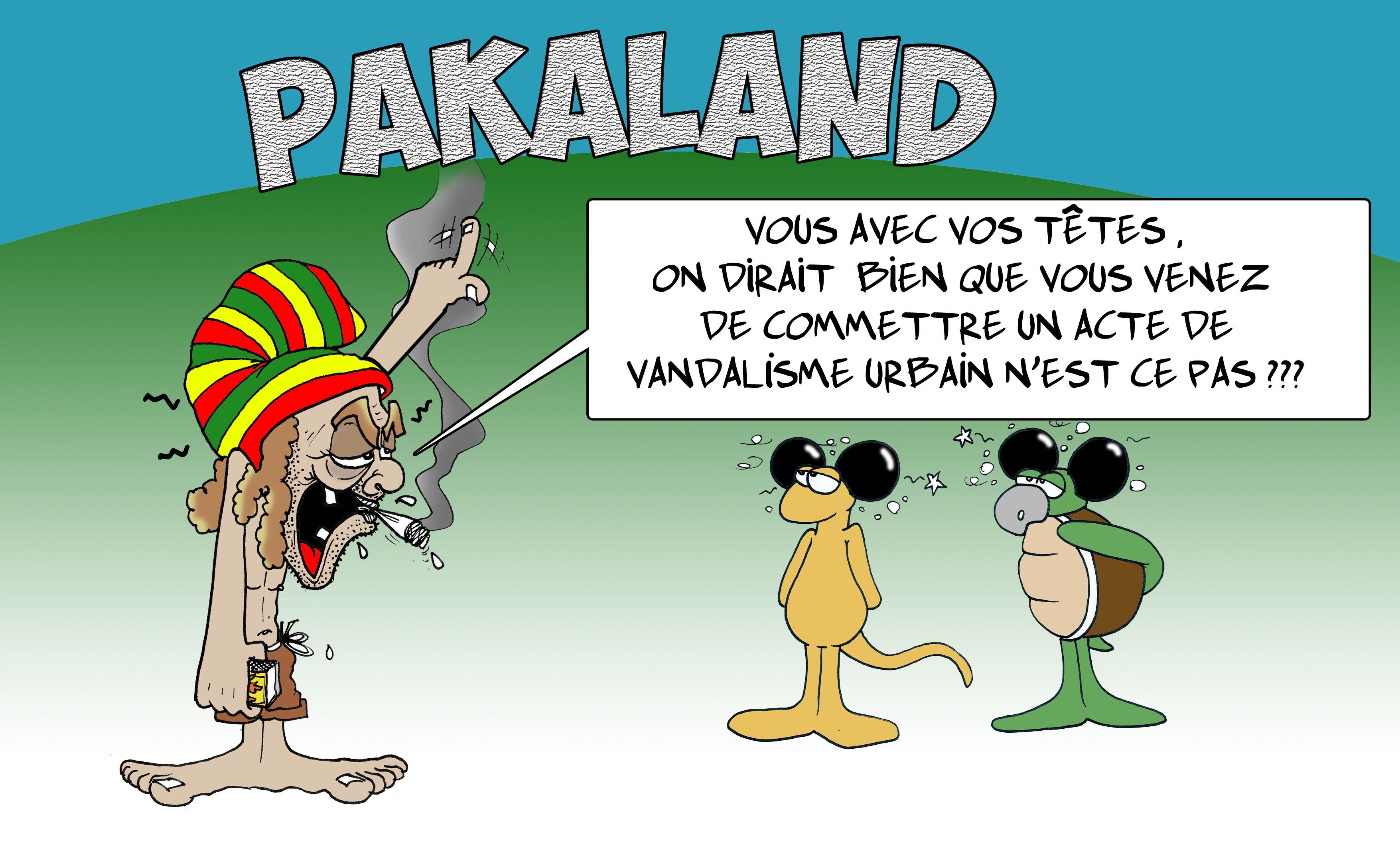 """"""" Pakaland """" vu par Munoz"""