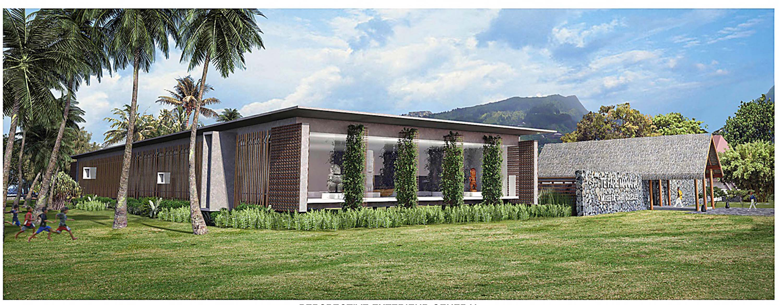 Rénovation du Musée de Tahiti et des îles : les esquisses dévoilées