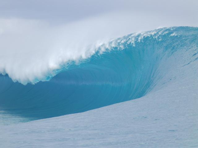 La vague mythique de Hava'e a accueilli, le mois dernier, la compétition internationale de surf Billabong Pro Tahiti. (Photo : Lionel Teihotu)