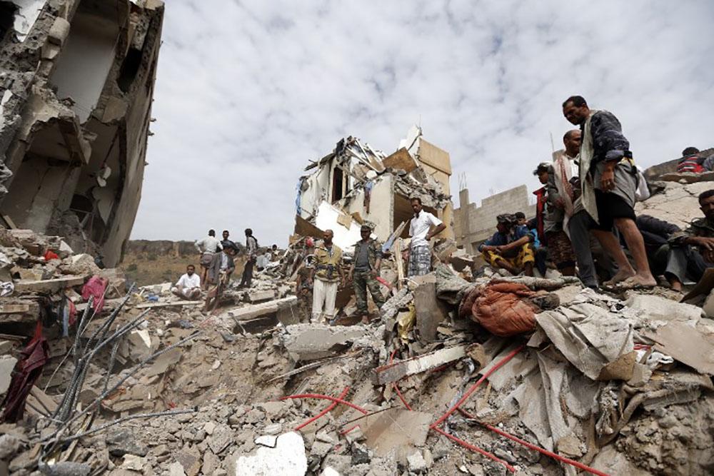 Yémen: un nouveau raid aérien fait 14 morts dont des enfants, l'ONU s'inquiète