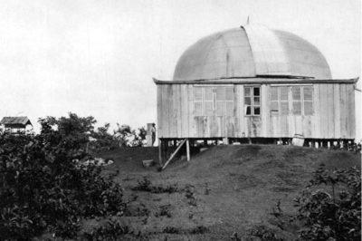 L'observatoire du mont Faiere vers 1910