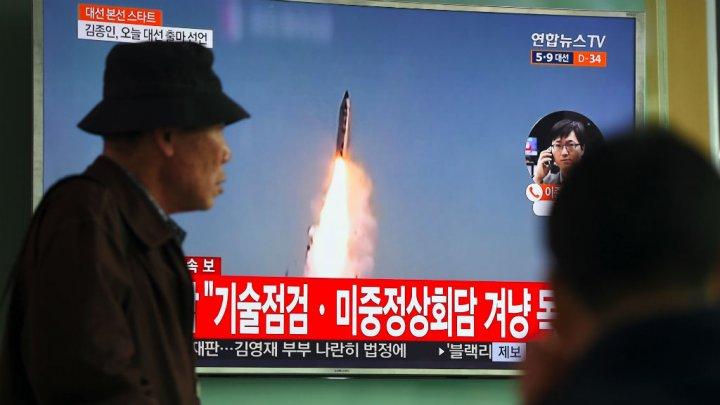 La Corée du Nord a tiré trois missiles de courte portée en mer du Japon
