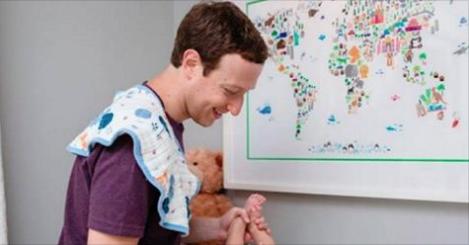 Le PDG de Facebook Mark Zuckerberg annonce la naissance de sa seconde fille