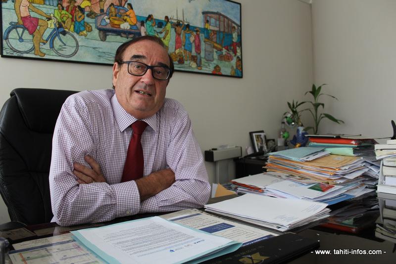 Le docteur Jean-Louis Boissin est endocrinologue à Papeete.
