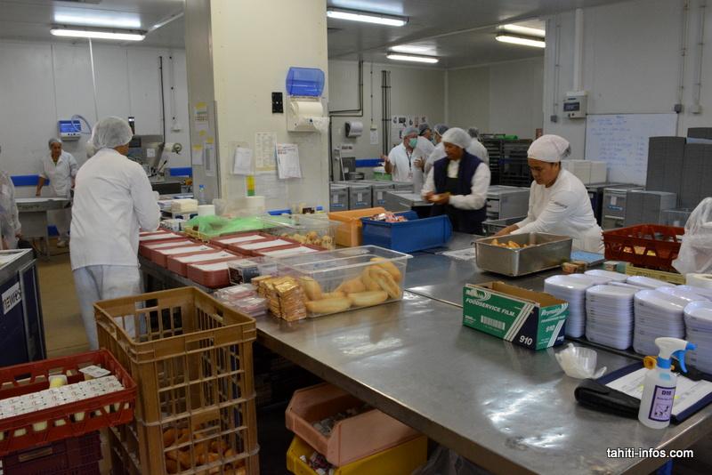 Deux chefs japonais pour préparer les plats des vols ATN