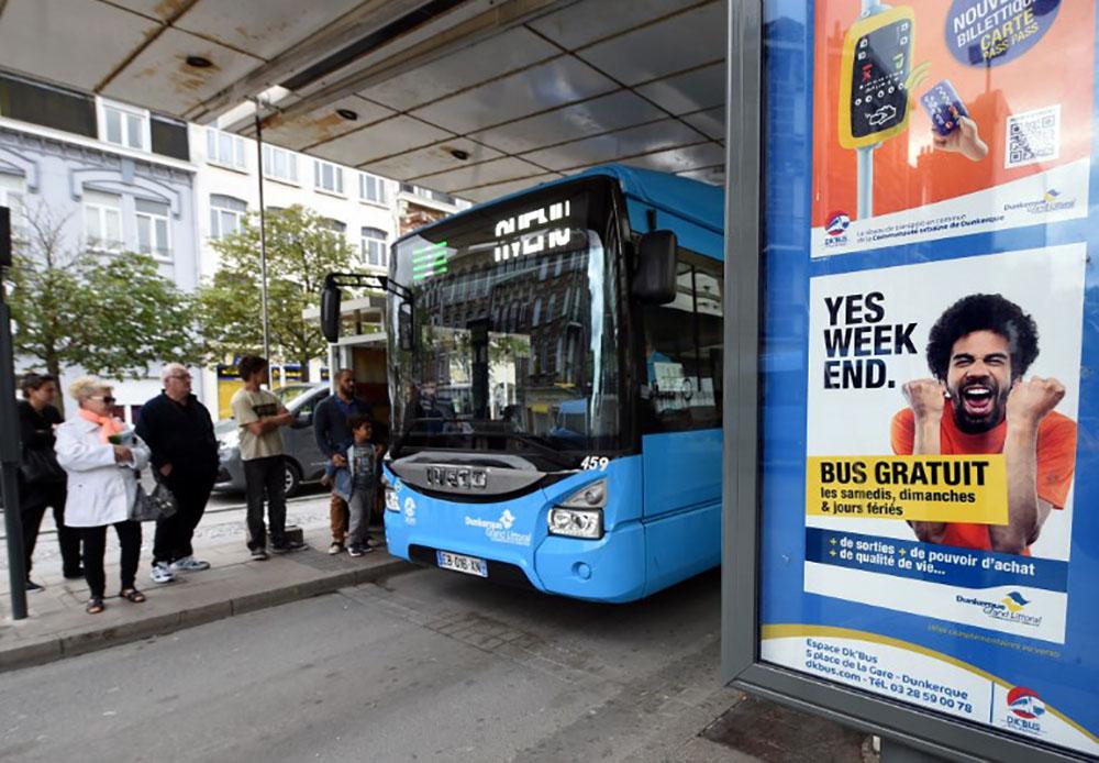 Dans l'agglomération de Dunkerque, le bus gratuit fait son chemin