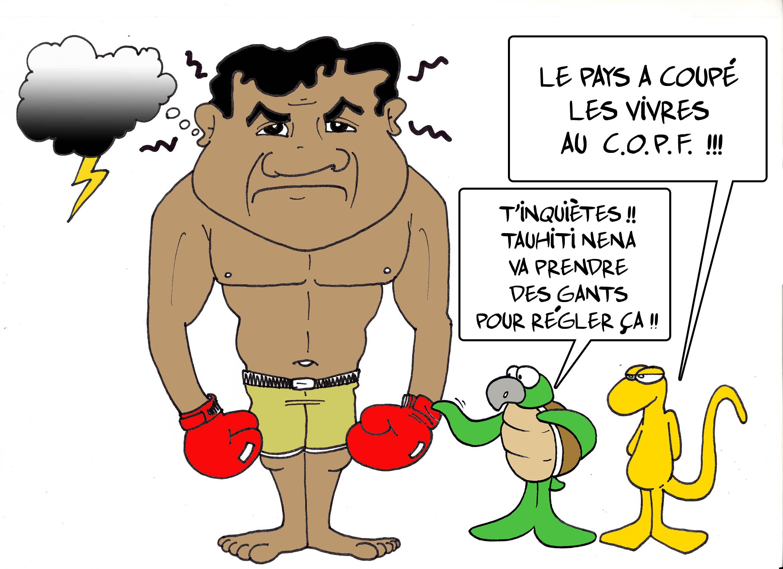""" Orage au COPF "" par Munoz"