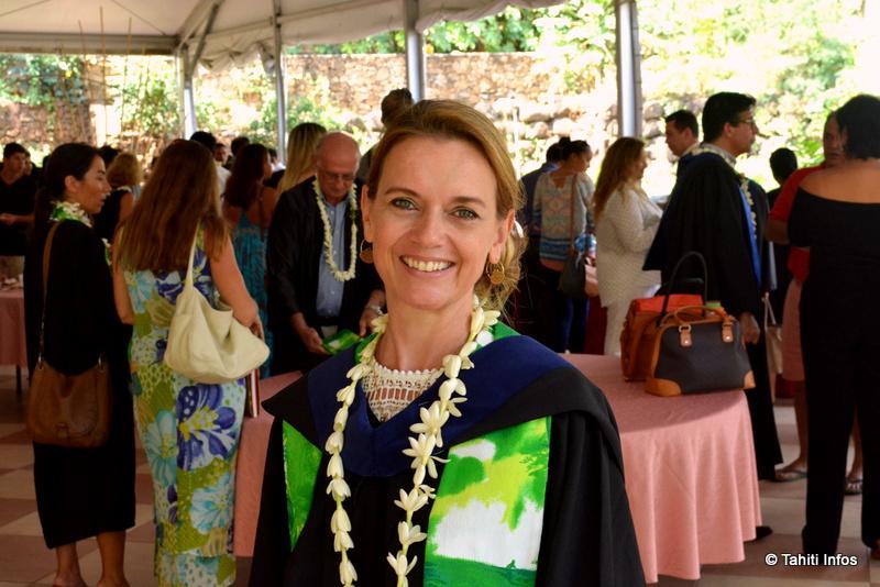 Cérémonie de graduation de la promotion Tahiti Infos de l'ECT