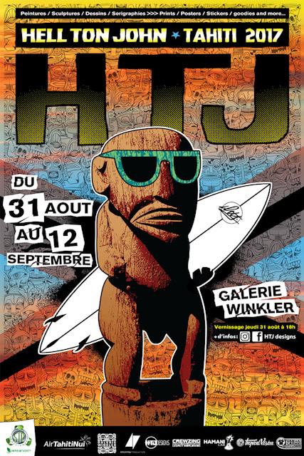 """L'art """"tribal"""" de HTJ exposé à la galerie Winkler"""