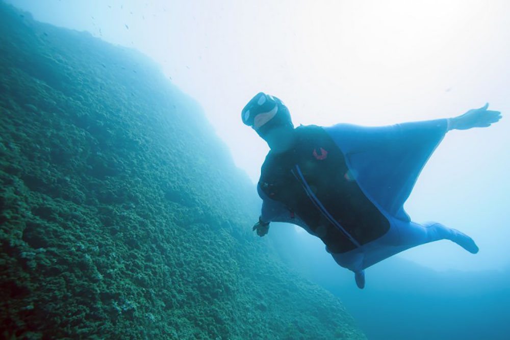 Pierre Frolla, l'homme qui volait dans l'océan