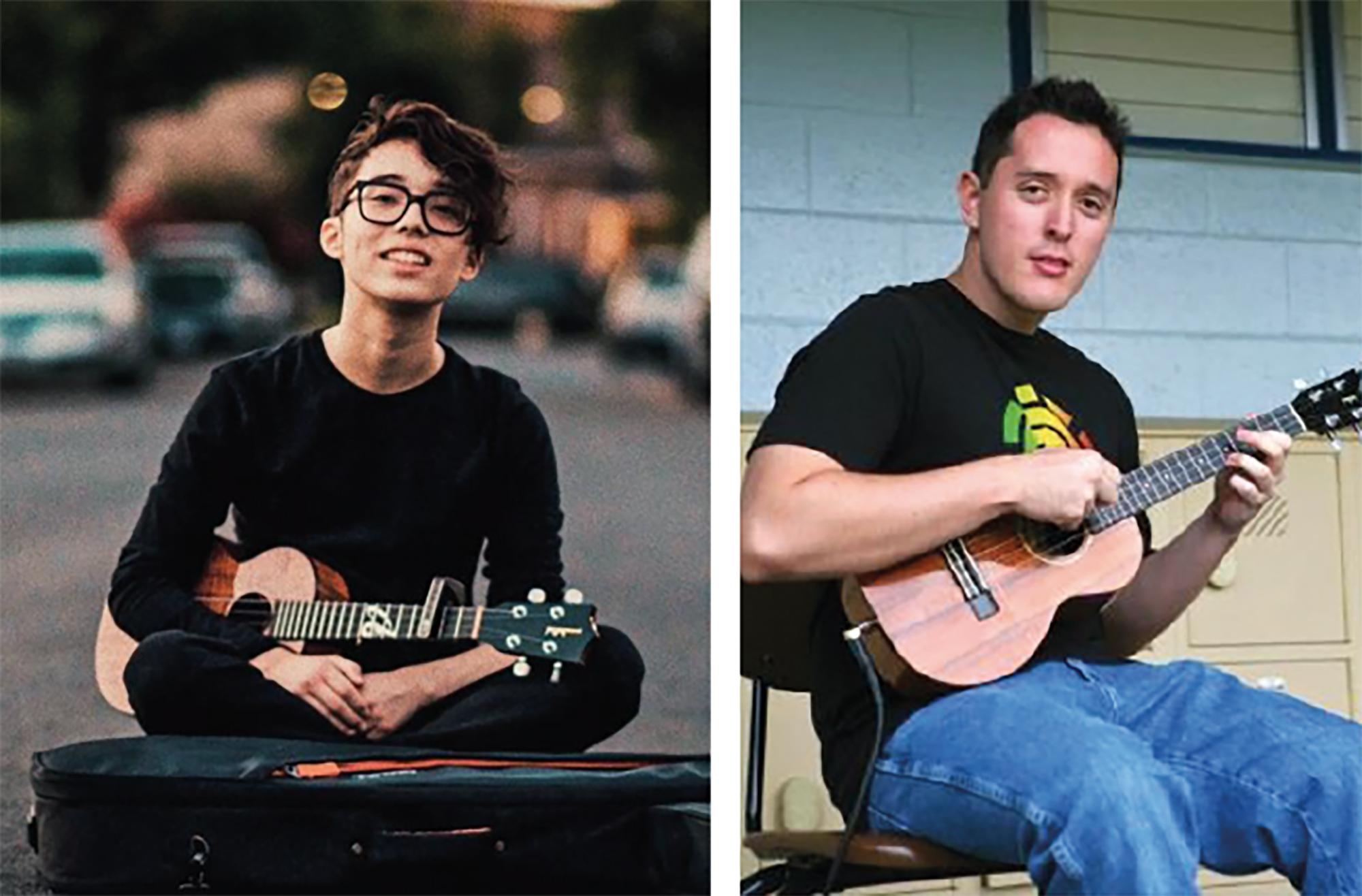 Aidan James et Andrew Molina, les deux joueurs internationaux qui viendront de Hawaii.