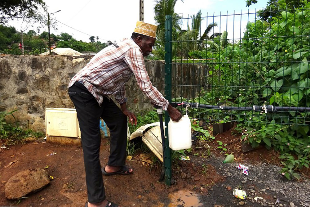 """Crise de l'eau à Mayotte: 17,3 millions d'euros engagés en 2017 pour le """"plan eau"""""""