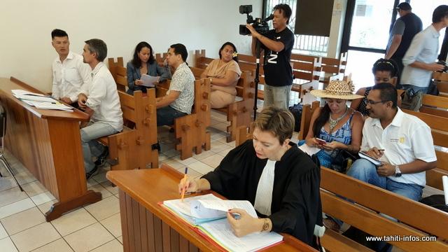 L'audience du juge des référés a tourné court ce vendredi matin.
