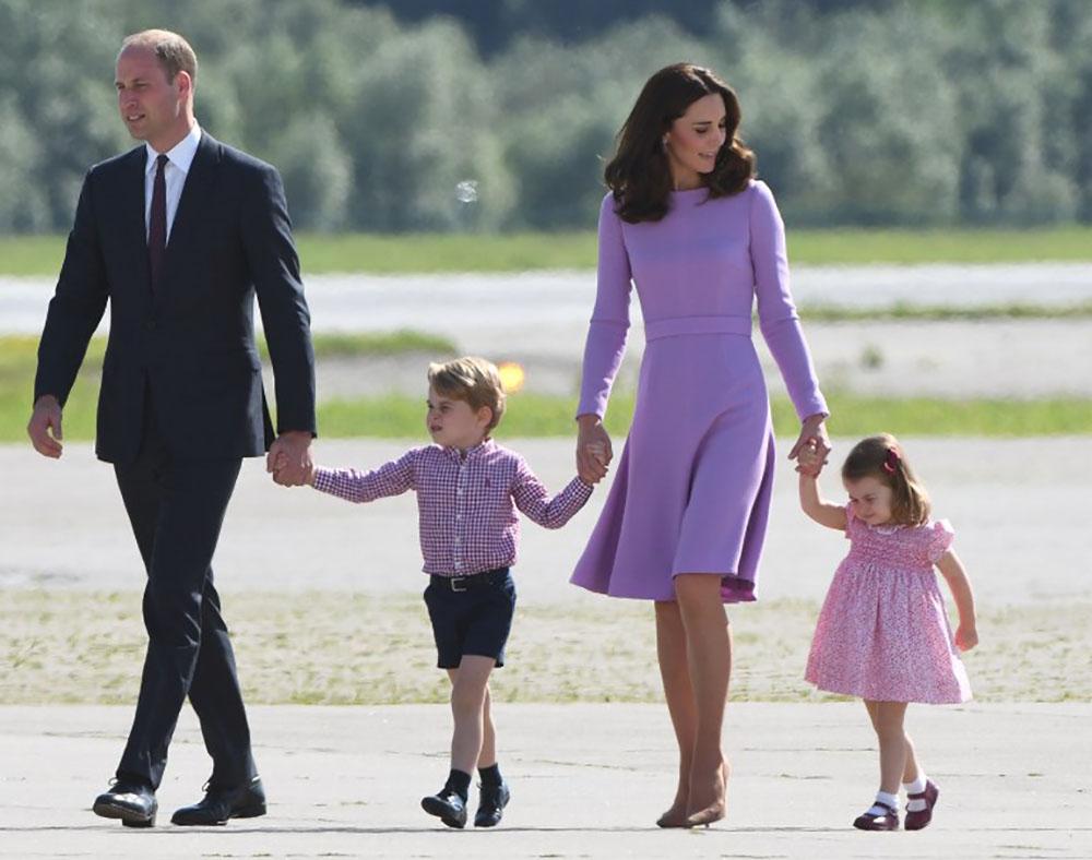 Le prince William et son épouse Kate attendent leur troisième enfant