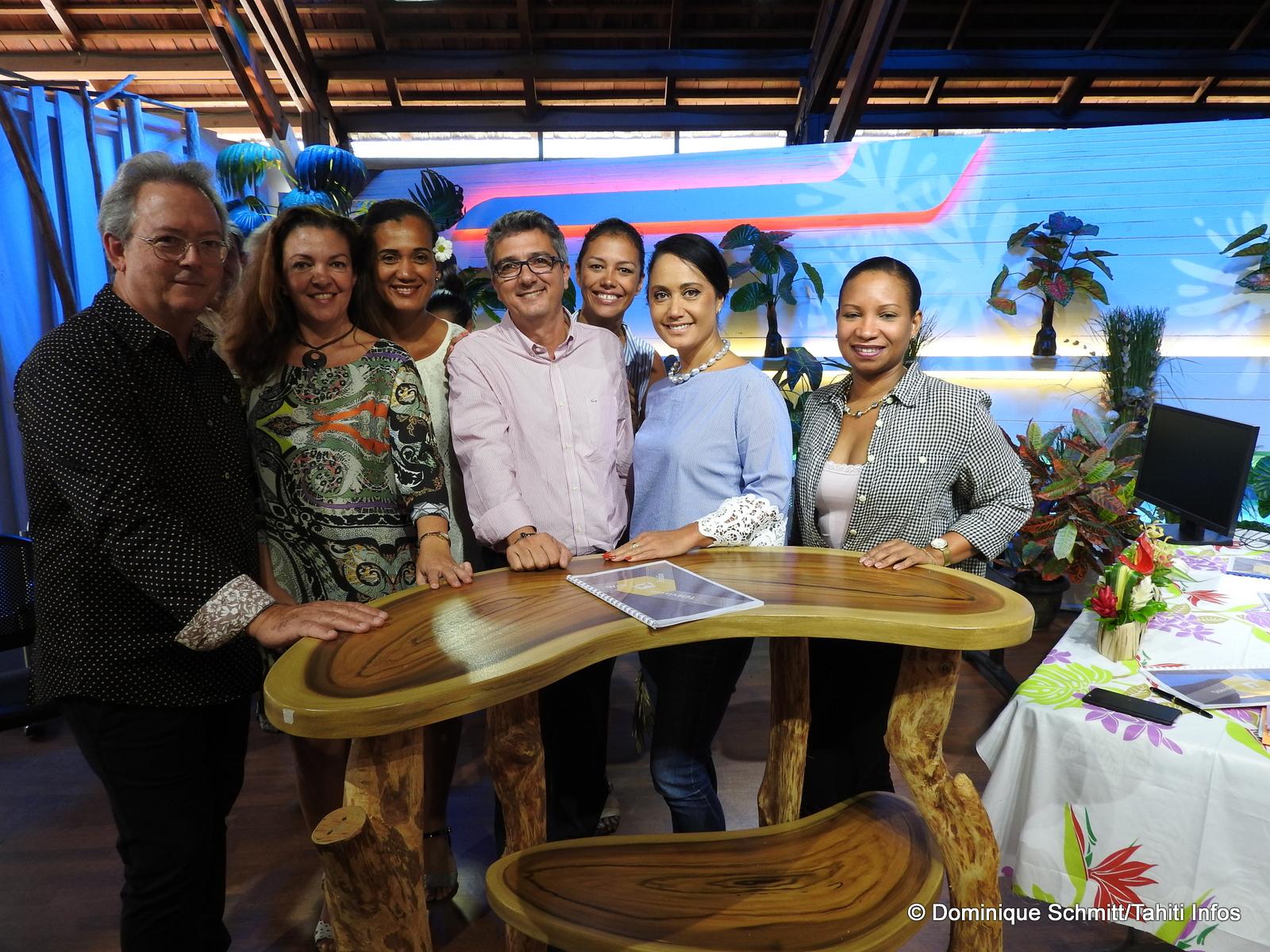 La direction de Polynésie 1ère a présenté ses programmes de la rentrée.