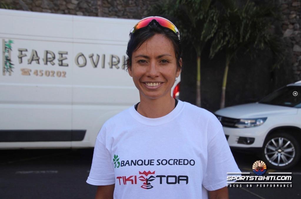 Cyclisme - Tahara'a des dames : Le retour de Kylie Vernaudon, qui s'impose