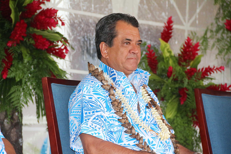 Edouard Fritch a participé mardi à la cérémonie d'ouverture du 48e Forum des îles du Pacifique, à Apia.