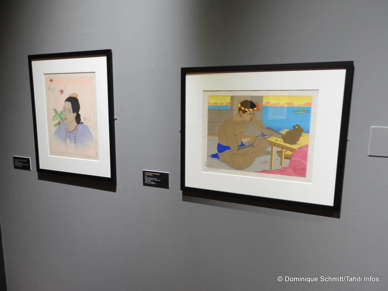 Cette exposition consacrée à l'artiste français est issue des collections du Musée du quai Branly.
