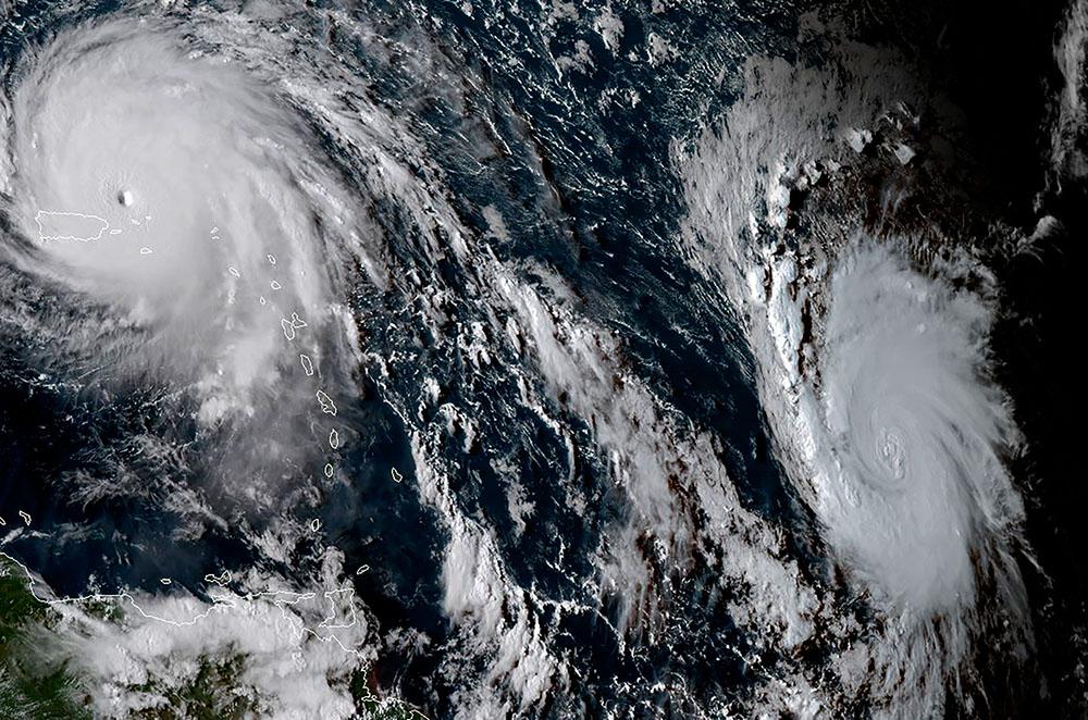 """José, nouvel ouragan à l'horizon, """"sans commune mesure"""" avec Irma"""