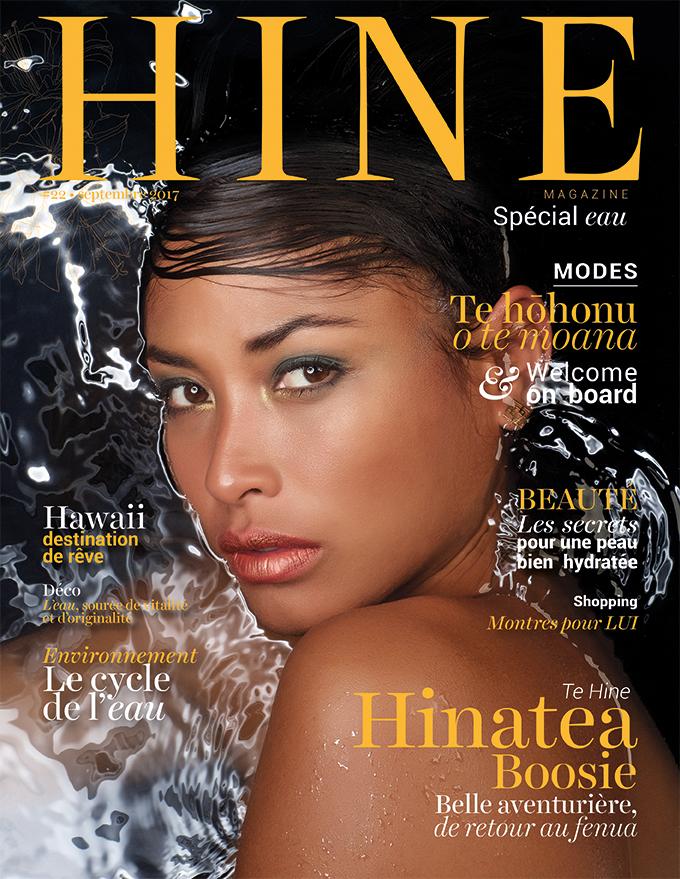 À la Une de Hine Magazine, jeudi 7 septembre 2017