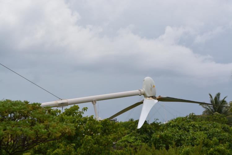 Les éoliennes de la société Te Mau Ito Api sont en panne depuis 2009.