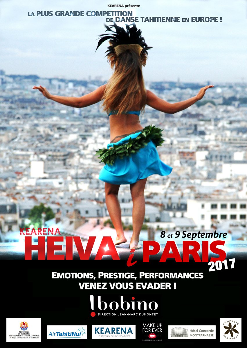 Heiva i Paris 2017 : 130 solistes sur la scène de Bobino