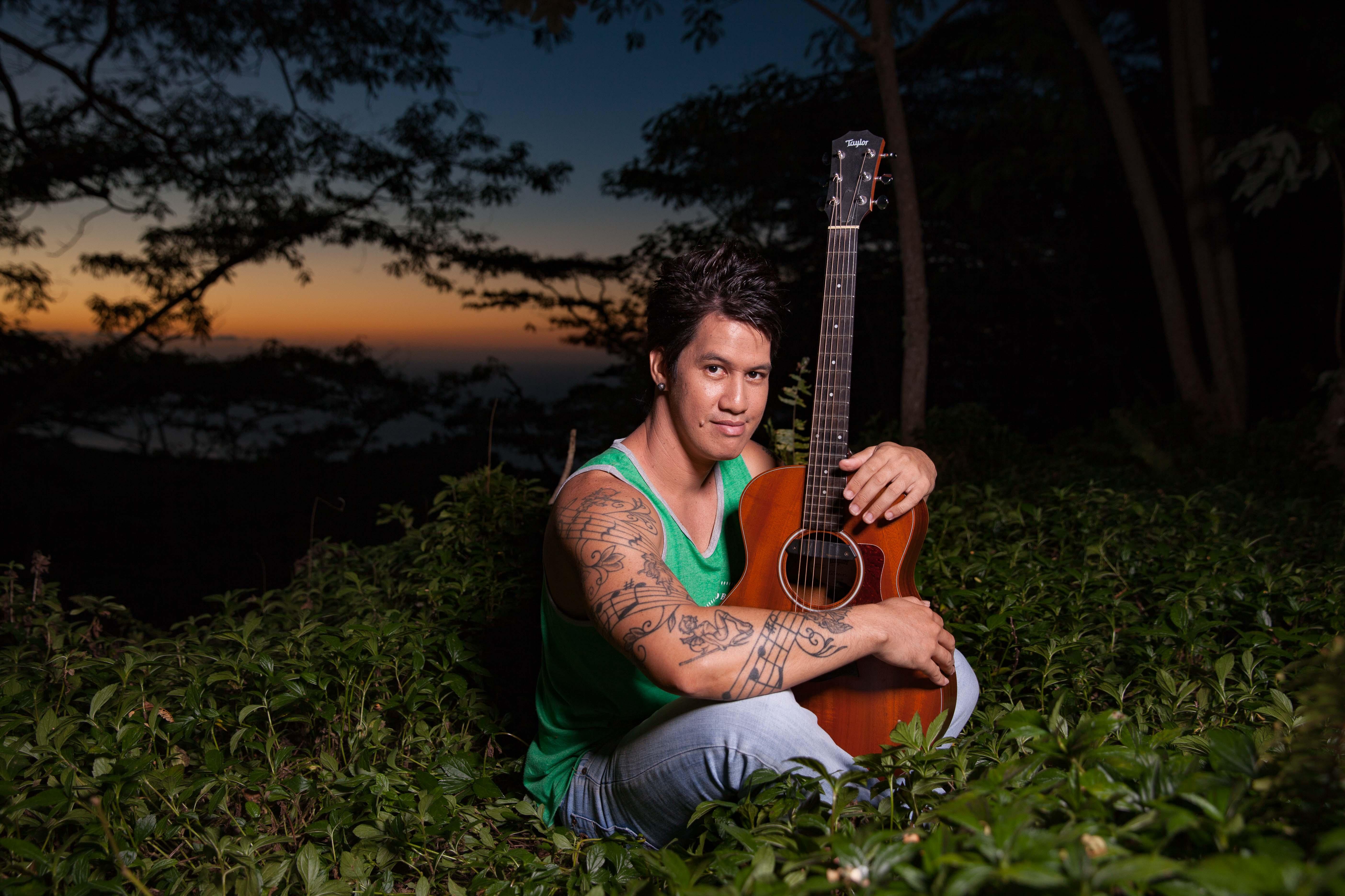 Maruarii Ateni, virtuose du 'ukulele et invité de marque pour le festival