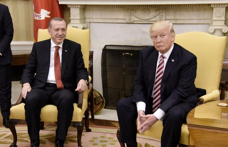 """Conversation entre Trump et Erdogan sur la """"stabilité régionale"""""""