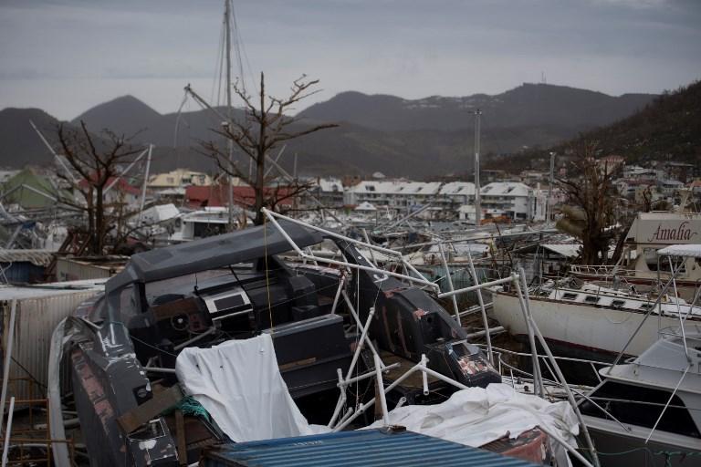 Ouragan José: alerte violette pour les îles de Saint-Martin et Saint-Barthélemy