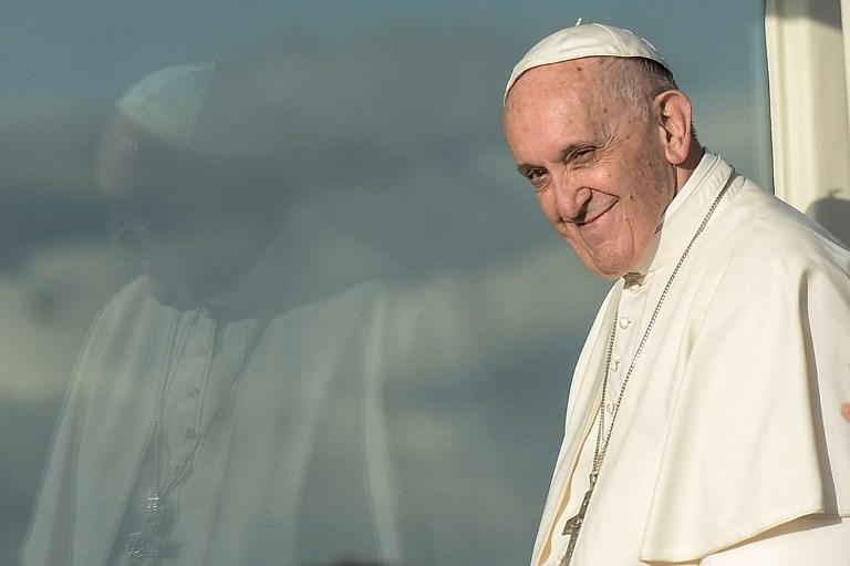 Le pape appelle l'Eglise à se renouveler en faveur de la réconciliation