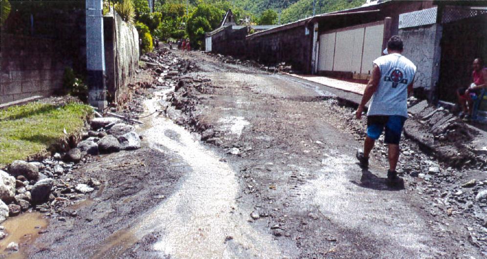 La réhabilitation de la route de la vallée de Papehue coûtera 65 millions de francs à la commune.