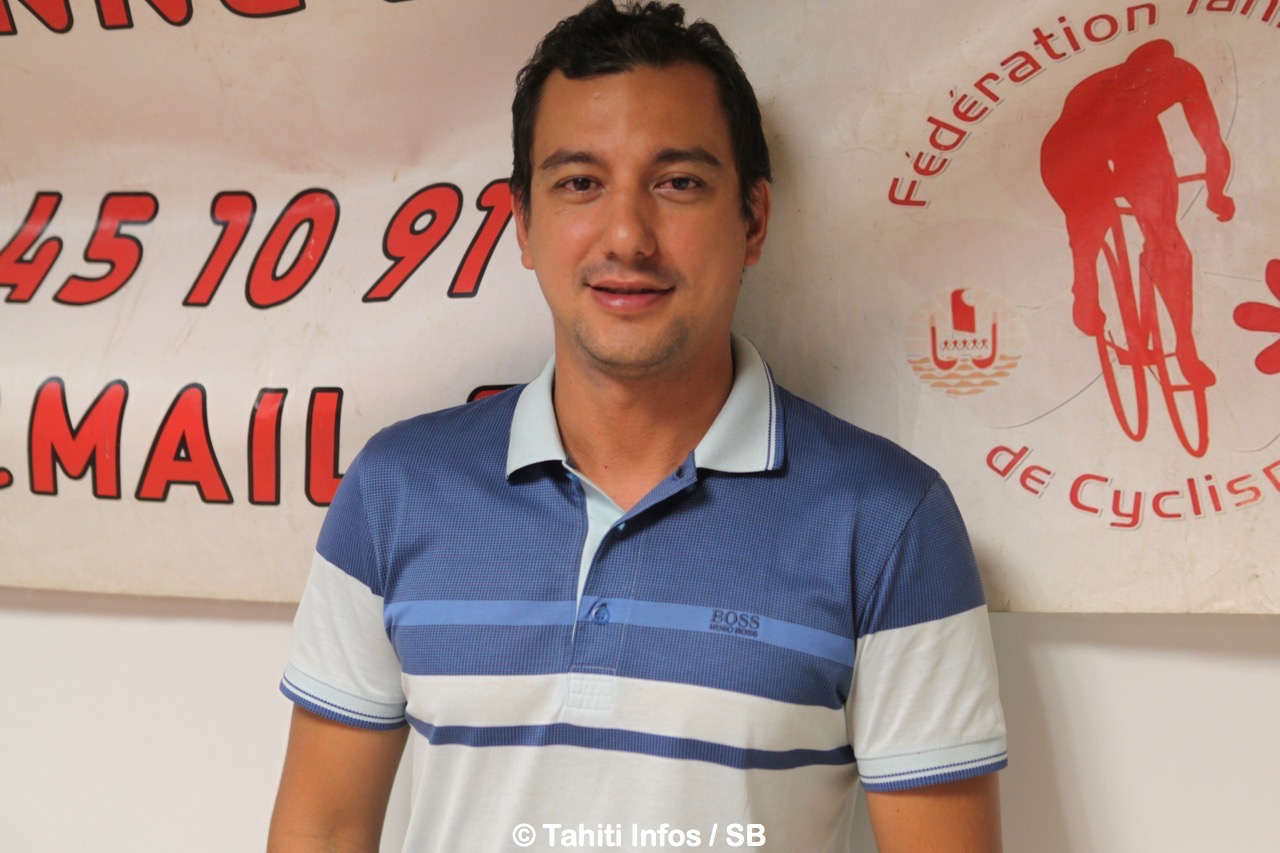 Clint Vernaudon, vice-président de la fédération