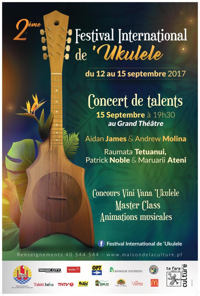 La douce et talentueuse Raumata Tetuanui parmi les invités du Festival de 'ukulele