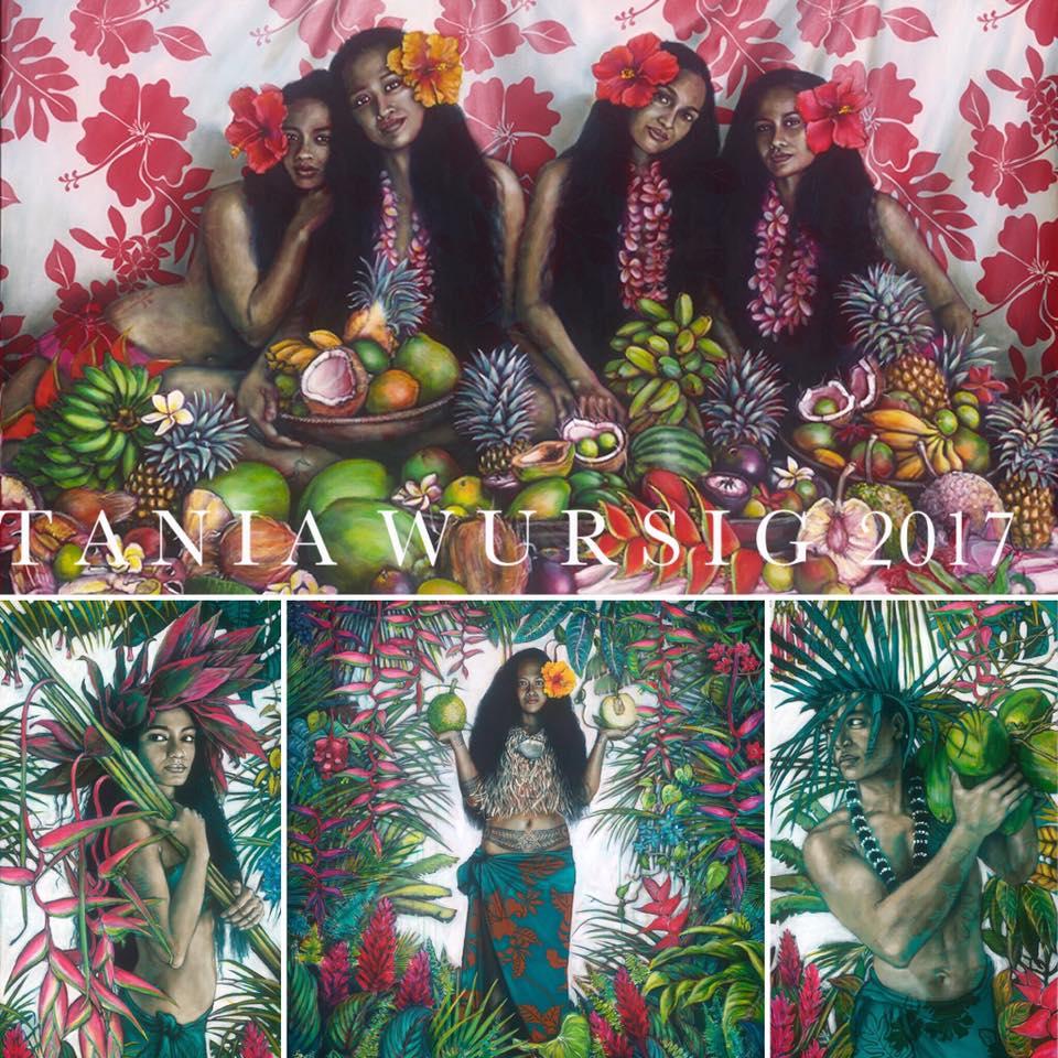 C'est un superbe hommage que Tania Wursig rend encore une fois à la Polynésie.