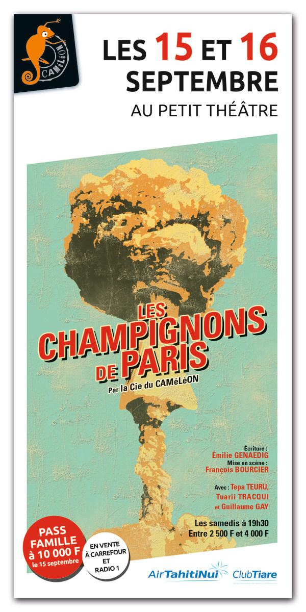 """""""Les champignons de Paris"""" : la pièce anti-nucléaire rejouée vendredi et samedi"""