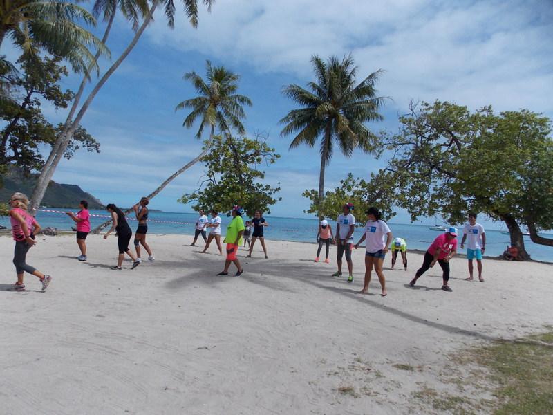 Plusieurs activités ont été organisées samedi dernier sur la plage de Tahiamanu à Moorea.