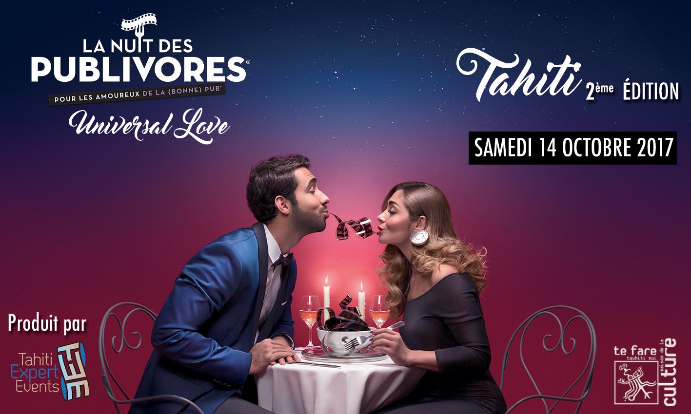 """La Nuit des publivores revient avec un nouveau thème """"universal love"""""""