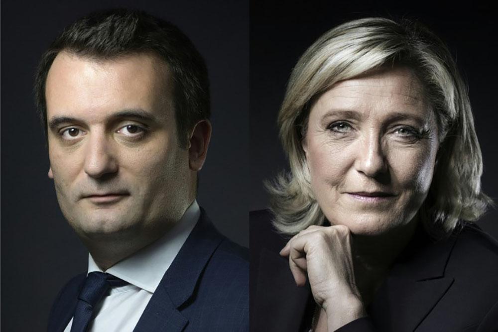 Philippot quitte le FN et Marine Le Pen