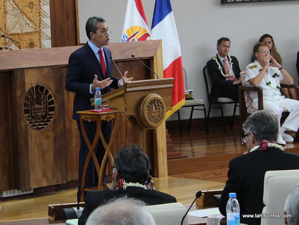 Assemblée: l'allocution testament de Marcel Tuihani