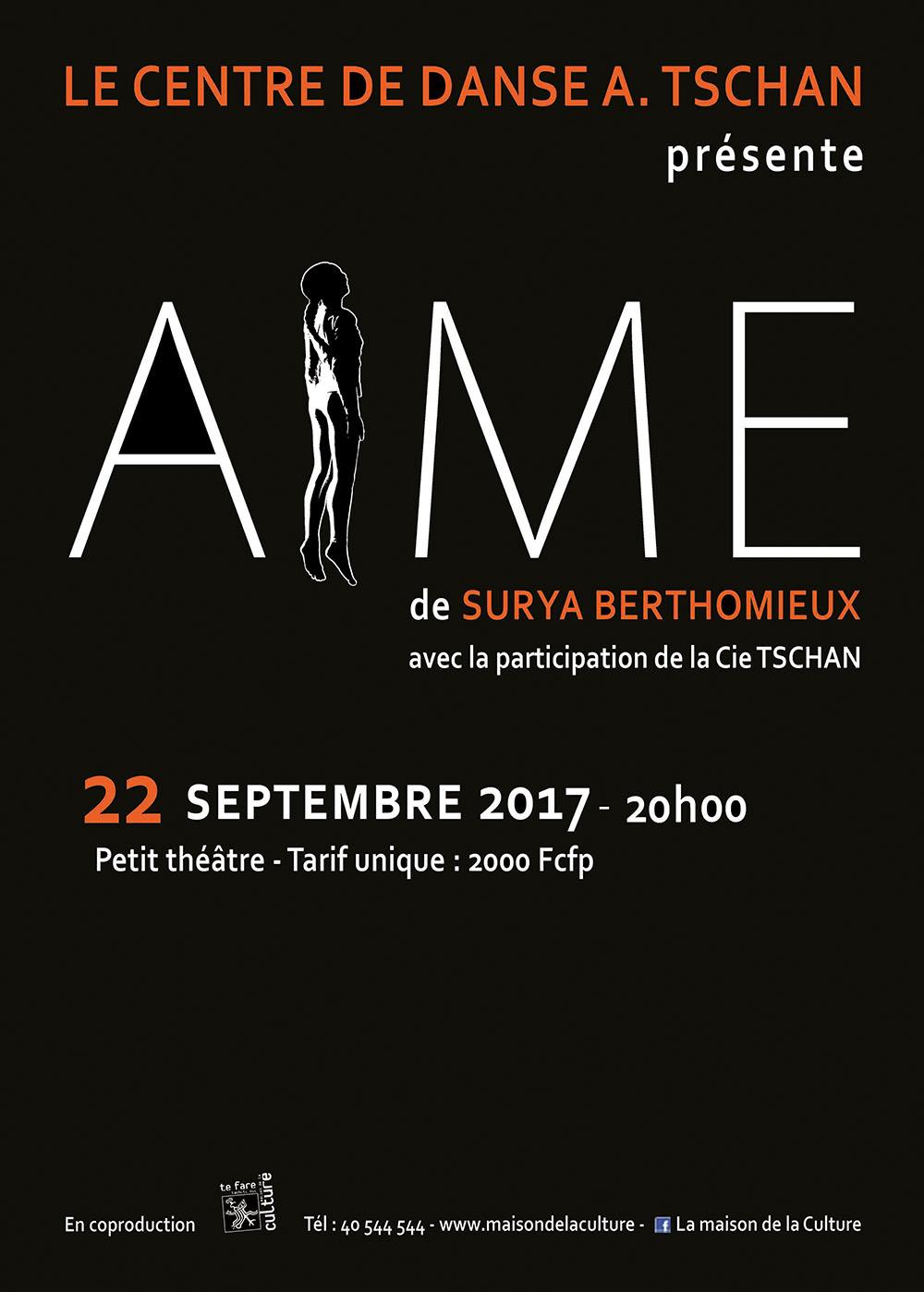 """""""AiME"""" : et danse l'amour !"""