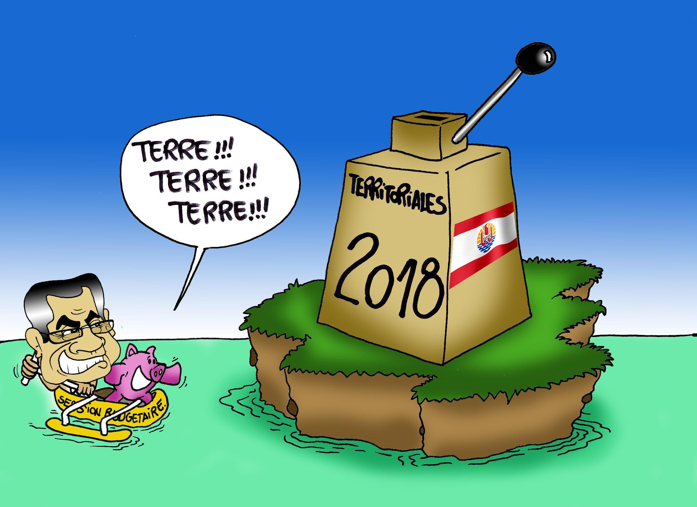 """"""" Le budget 2018 """" par Munoz"""