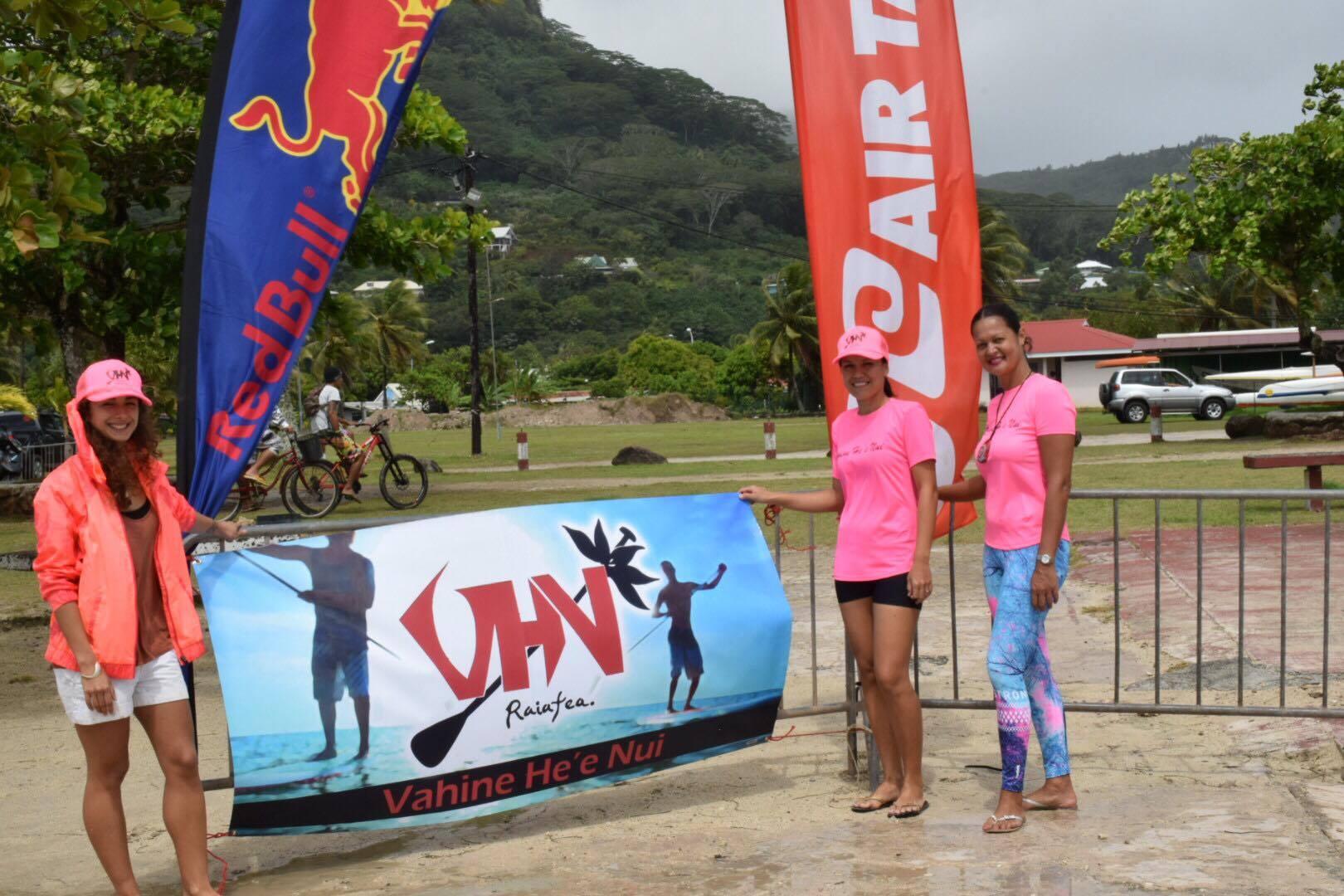 Une vingtaine de compétiteurs présents à la Vahine He'e Nui