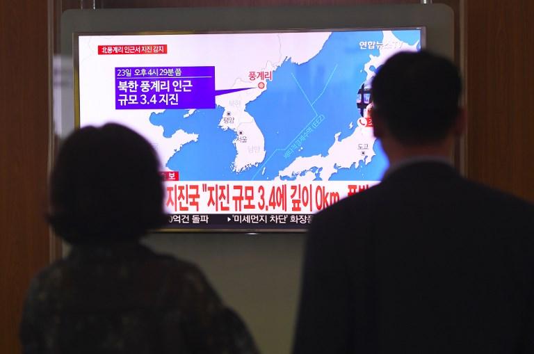Un séisme en Corée du Nord, probable réplique de l'essai du 3 septembre