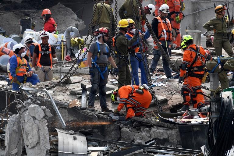 Un nouveau séisme secoue le Mexique