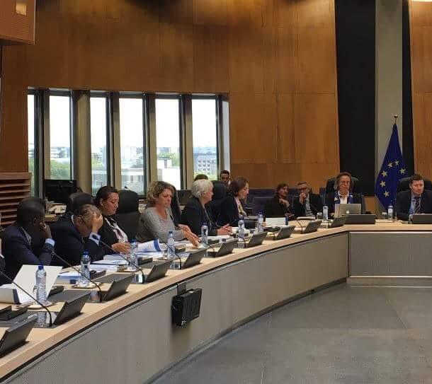 Mission d'étude à la Commission européenne