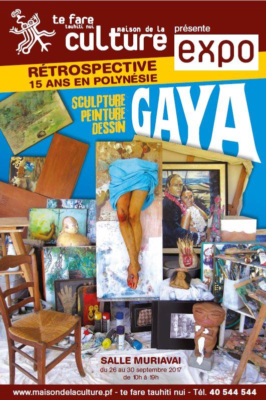 """""""15 ans en Polynésie"""", l'exposition rétrospective de Gaya"""