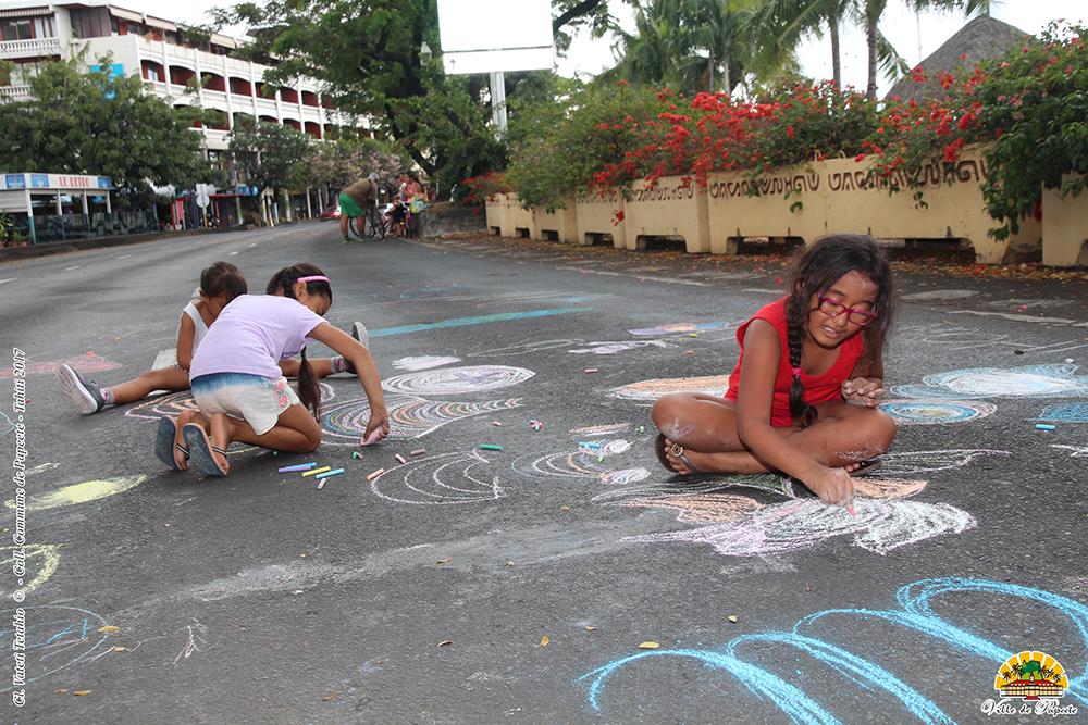 Papeete : dimanche sportif sur le front de mer