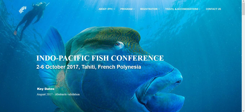 La 10ème édition de l'Indo-Pacifique Fish Conference est organisée à Tahiti