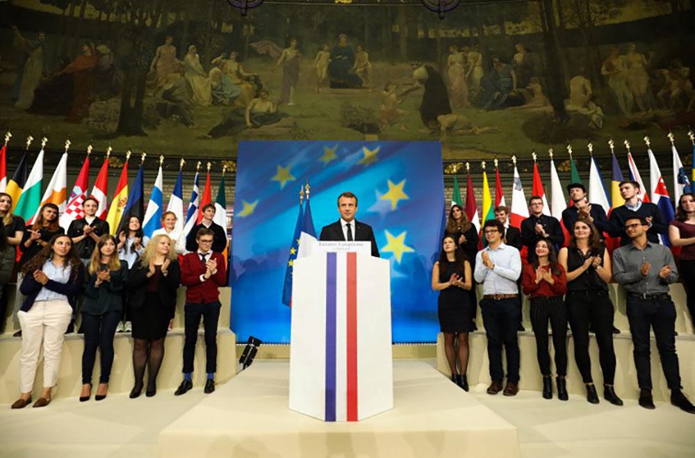 Macron dévoile ses plans pour réformer l'Europe