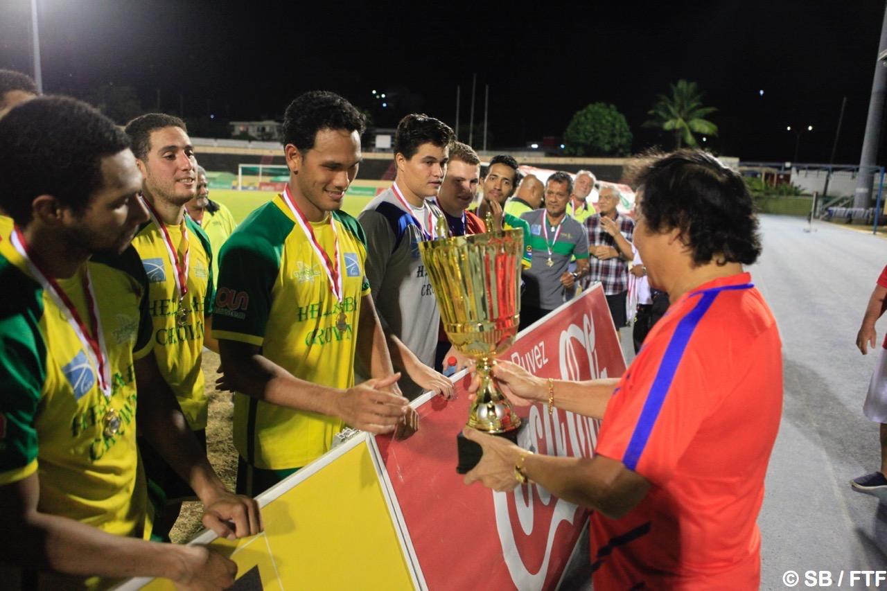 Tefana a remporté le Trophée des champions mais s'est fait surprendre par Central en championnat